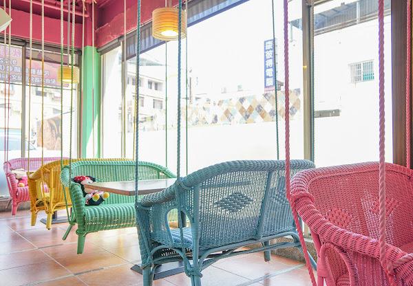 夢幻彩虹鞦韆座位~超適合聚餐約會的複合式餐廳-渡邊の月桂