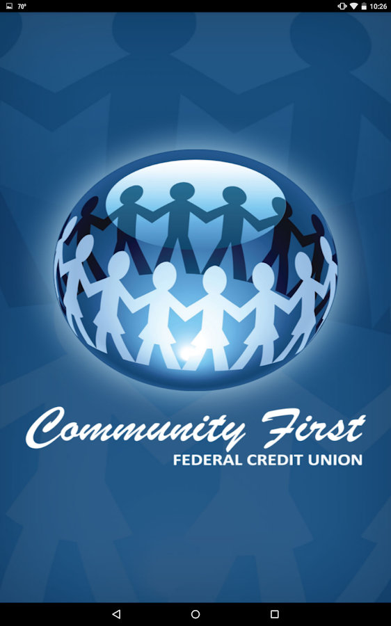 Community First Credit Union- screenshot
