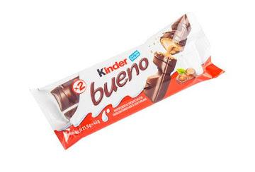 CHOCOLATINA KINDER BUENO   X43G.
