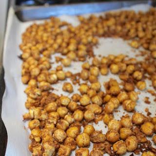 Cinnamon Chickpea Crispies