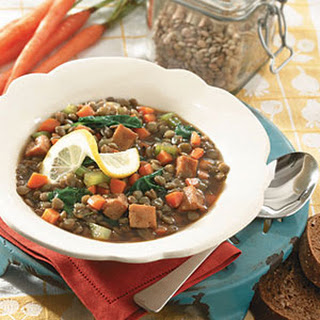 Lentil and Ham Stew