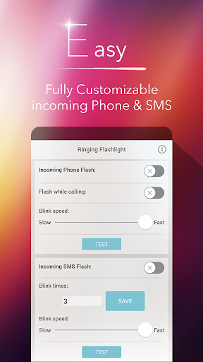 Ringing Flashlight 4.8.3 screenshots 2