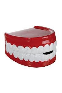 Sparbössa, tänder