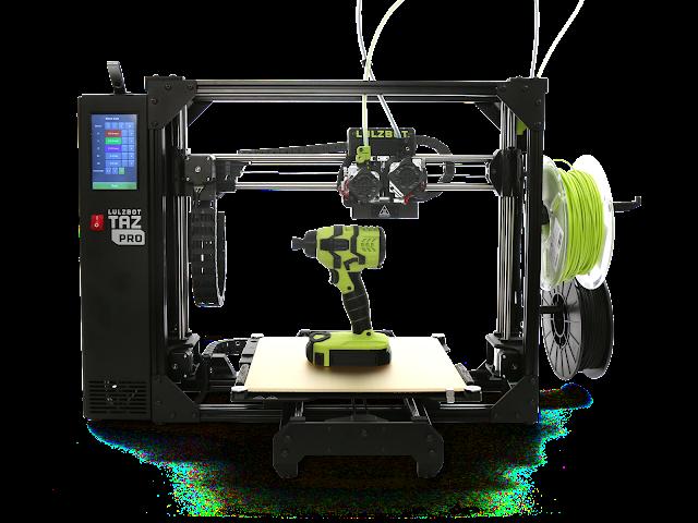 Factory-Refurbished LulzBot TAZ Pro Industrial 3D Printer