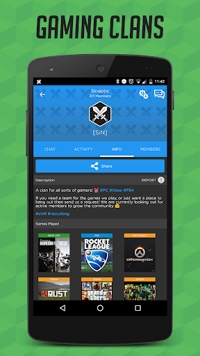 GamerLink - LFG, Clans & Chat for Gamers! Apk 2.8.14 ...