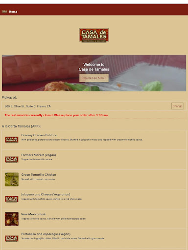 Casa de Tamales screenshot 7