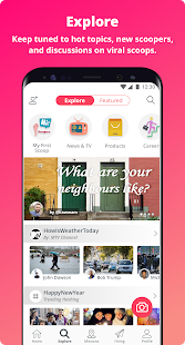 myScoop - Citizen Journalism Screenshot