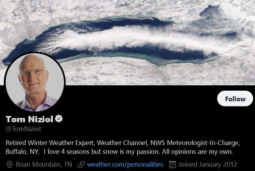 Tom Niziol - Weather Influencer