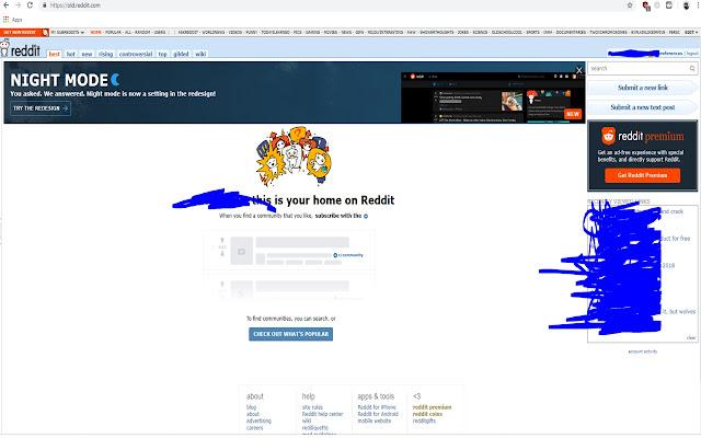 Reddit redirect