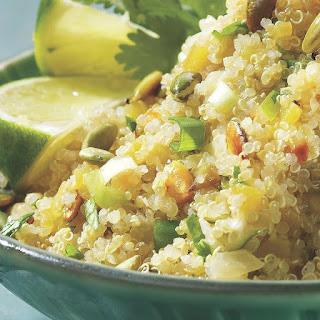 Quinoa with Latin Flavors.