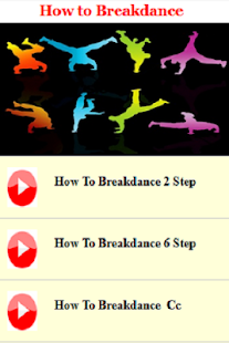 How to Breakdance - náhled