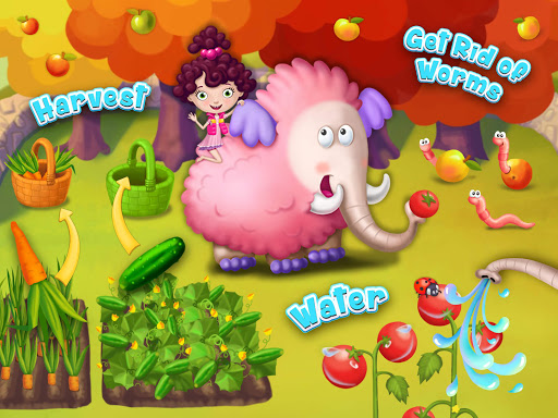 Miau2019s Secret Pet - Fluffy Pink Elephant Care 1.0.109 screenshots 16