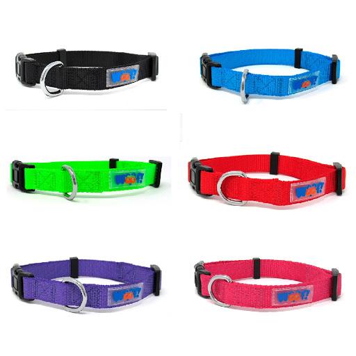 accesorio para mascotas woof collar nylon 40cm
