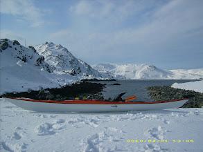 Photo: Vinterpadling har sin sjarm.