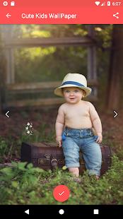 Cute Kids WallPaper - náhled