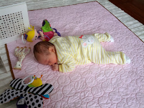 Photo: Tummy time is best time.