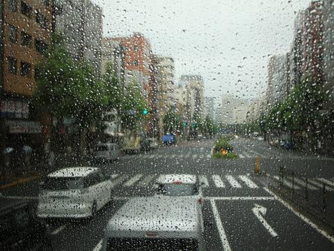 西日本JRバス「プレミアム中央ドリーム342号」 744-0901 車窓 東京駅へ向けて