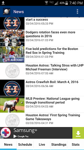 Houston Baseball - Astros Edition  screenshots 1