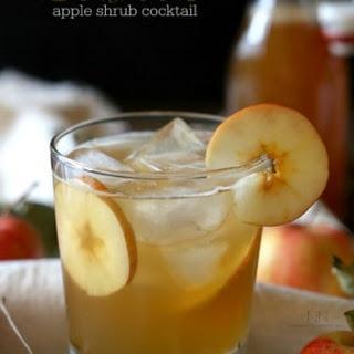 Bourbon Apple Shrub Cocktail Recipe