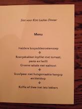 Photo: Diner voor Sint voor Kint bij de Pelgrimvaderskerk