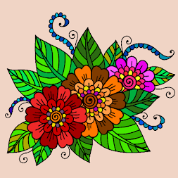 Mandalas coloring pages (+200 free templates) APK screenshot thumbnail 1