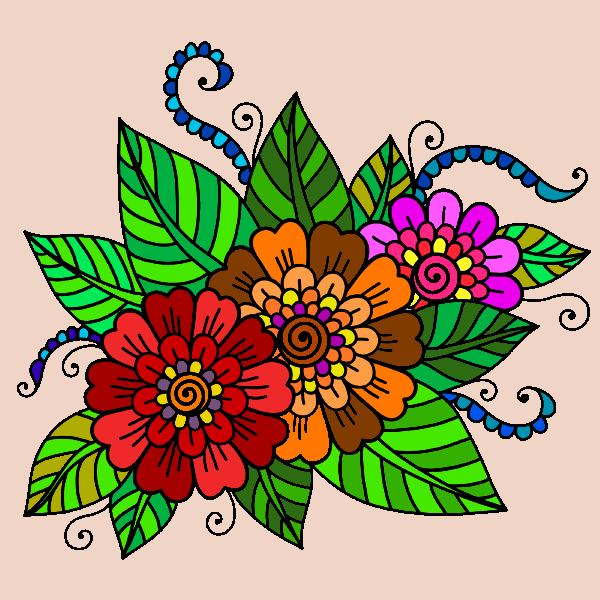 Mandalas Coloring Pages Screenshot