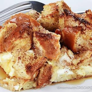 Crockpot French Toast Casserole.