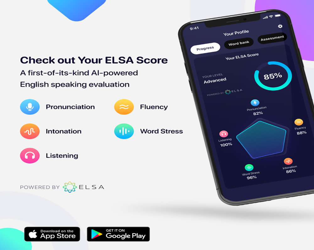 học tiếng Anh tại nhà cùng ứng dụng ELSA Speak