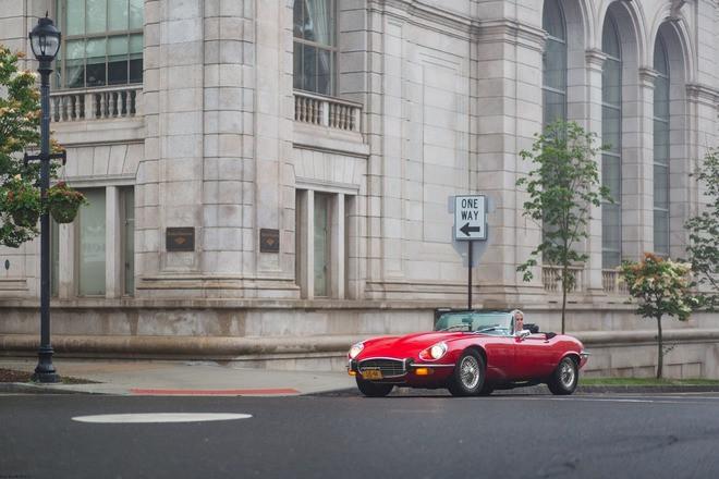 1973 Jaguar Convertible Hire NY 10019