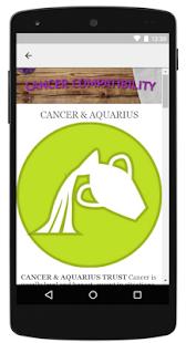 Cancer Compatibility - náhled