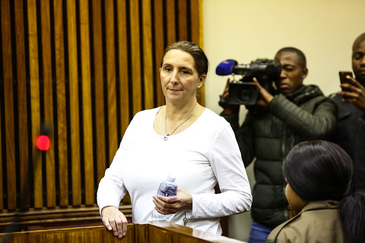 Vicki Momberg walked out of Sun City prison a free woman on Friday.