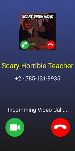 Siren Head Scary Call Video Prank screenshot 3