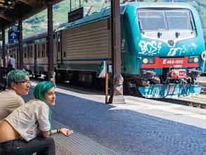 Photo: Bolzano #1 - travel in green...  #street #streetphotography #shootthestreet #bolzano
