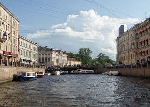 Photo: St. Petersburg is the second largest city in Russia with a population of five million.