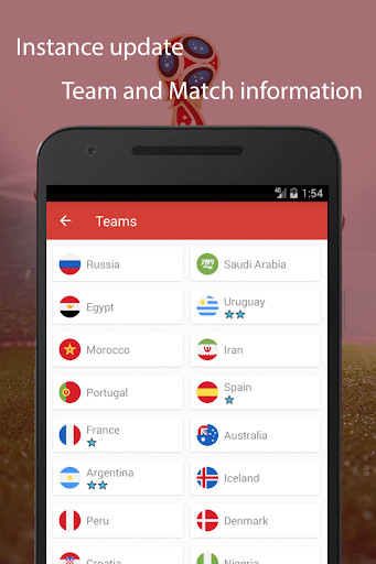World Cup 2018 Live Scores & Fixtures 2.0.1 screenshots 5
