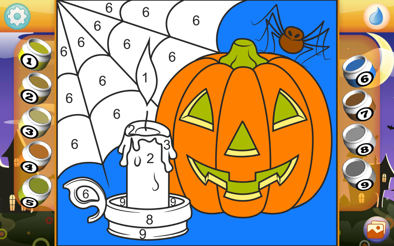halloween coloring book pro android apps on google play