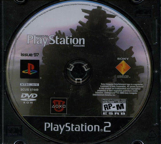 Video game:Official PlayStation Magazine, Issue #97 - Sony
