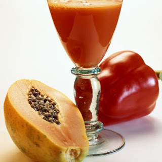 Pepper and Papaya Juice