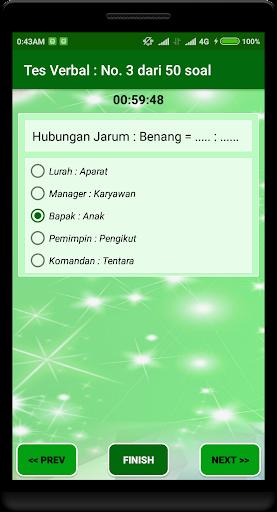 Latihan Tes Potensi Akademik 2018 1.2.0 screenshots 3