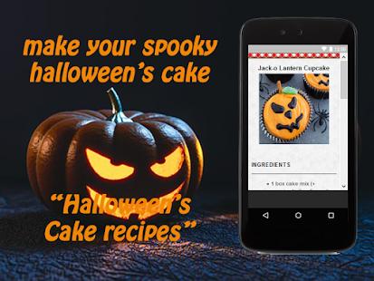 Halloween's Cake Recipes - náhled
