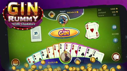 Gin Rummy - Online  captures d'écran 6
