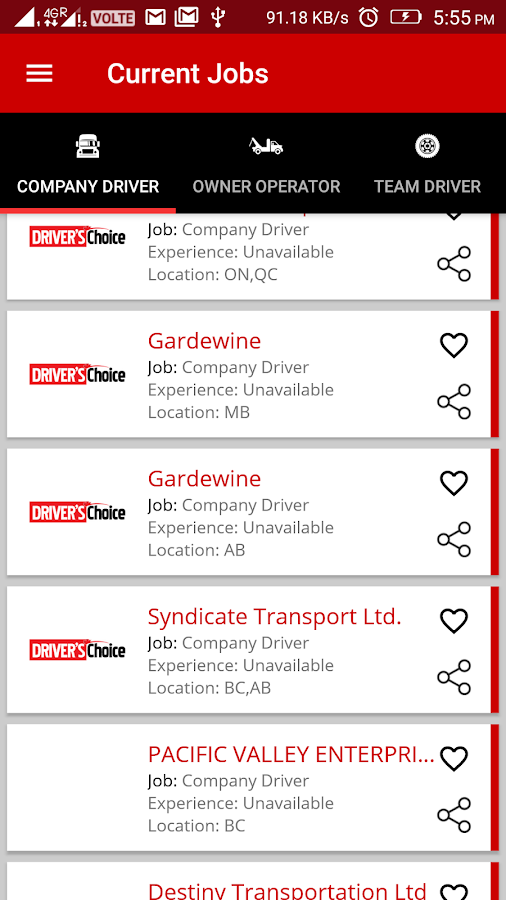Trucking Jobs & Services- screenshot