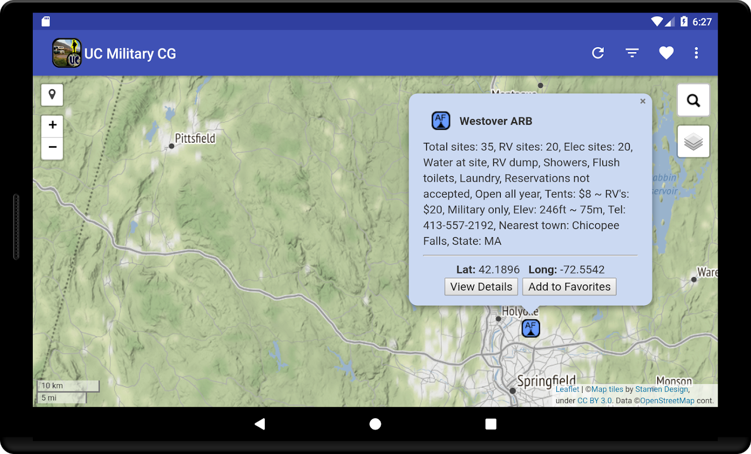 Ultimate US Military FAMCAMPS Android Apps On Google Play - Us military campgrounds and rv parks map