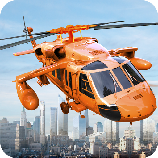 Army Helicopter City Hero 3D