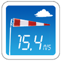 Wind Speed Meter anemometer icon