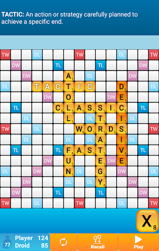 Classic Words Solo screenshot 3