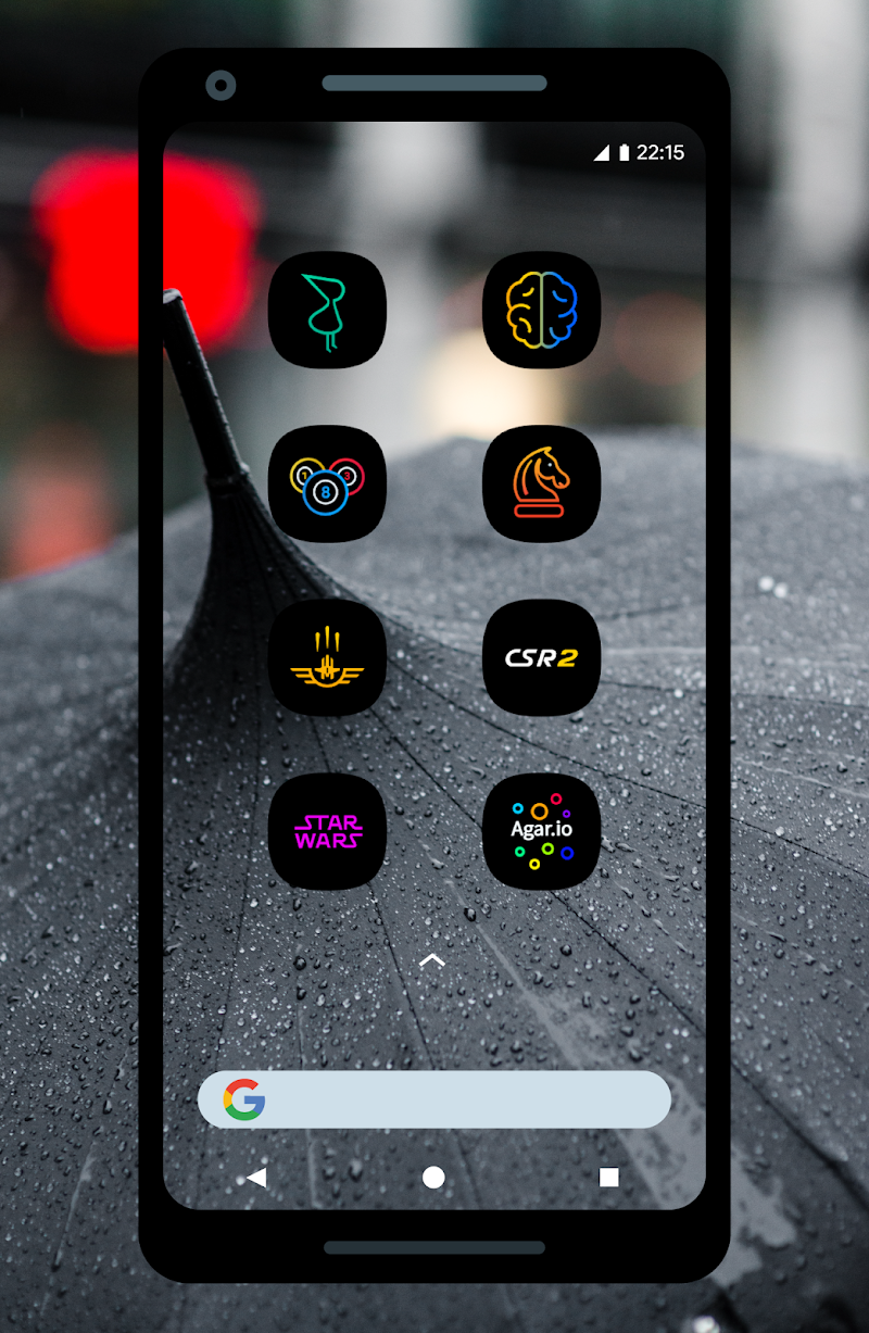 UX Led - Icon Pack Screenshot 1