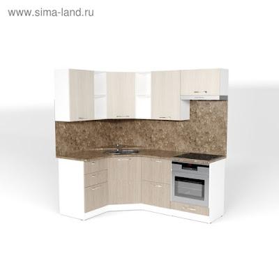 Кухонный гарнитур Ольга оптима 4 1400*2000 мм