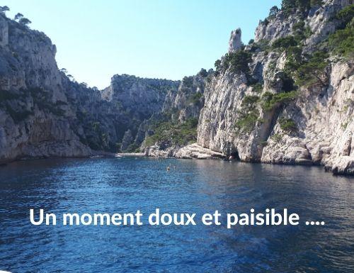 Photo de la Calanque d'En Vau : doigt de Dieu un moment doux et paisible ... Cassis région de Marseille