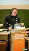 Photo: Keynote von Markus Beckedahl, Gründer und Chefredakteur von netzpolitik.org   Foto: Janertainment Janine Amberger